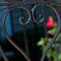 Heart Ironwork and a rose, Charleston SC